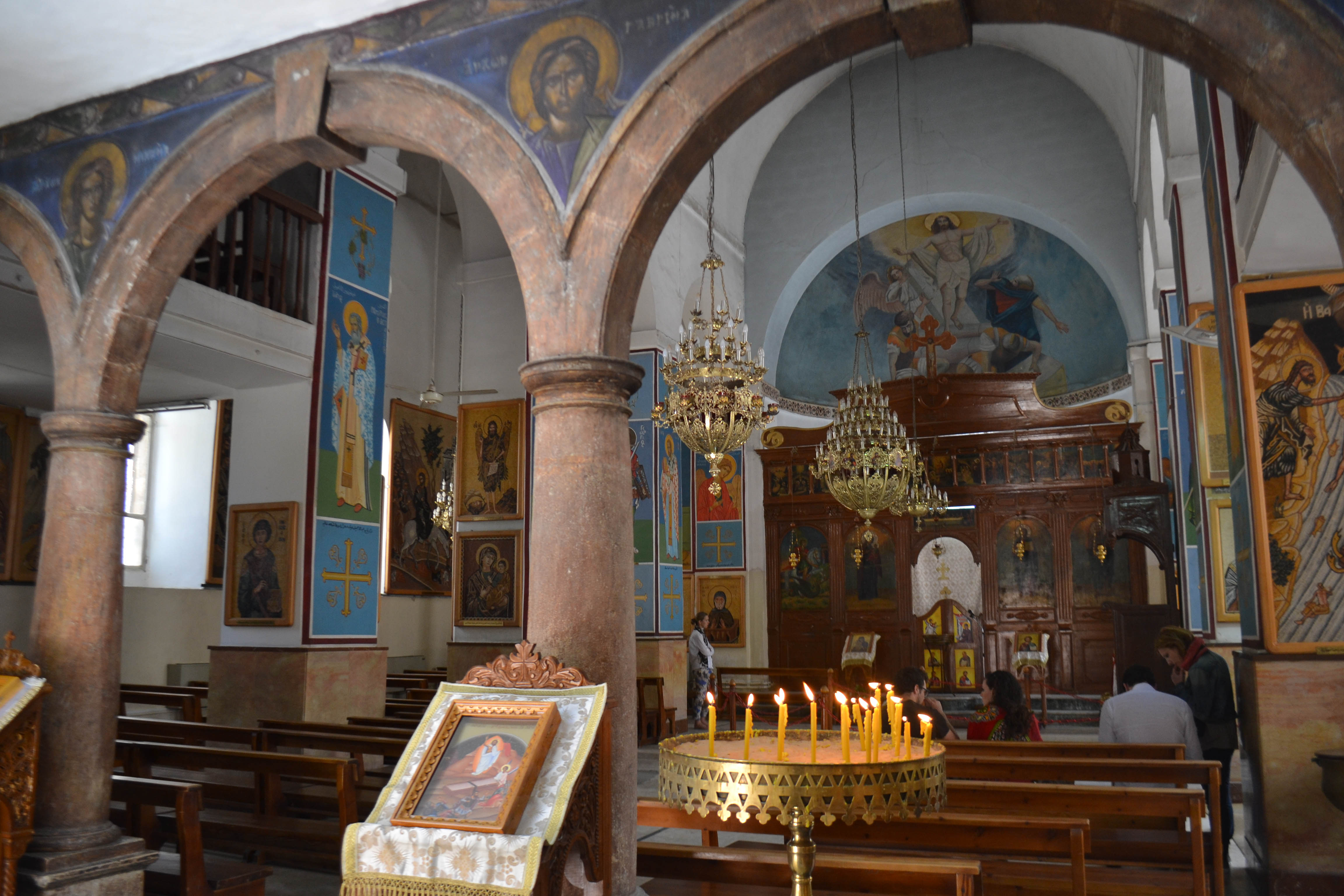 11:00 - 11:30 Madaba - Saint George church